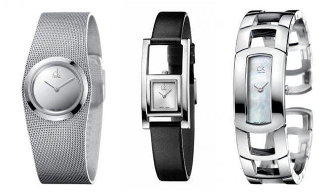 циферблаты часов CK разной формы