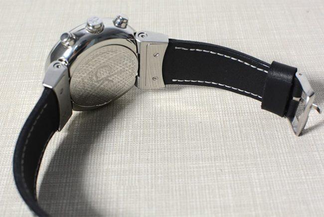 часы CK с кожаным ремешком