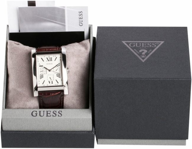 фирменная коробка часов Guess