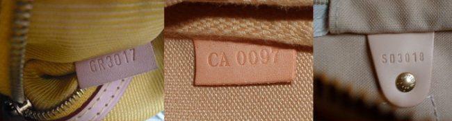 проверка по номеру сумок Louis Vuitton