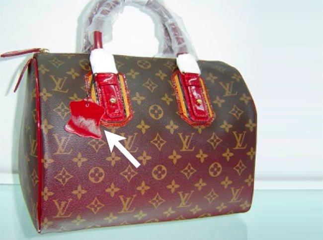 фейковая сумка под фирму LV