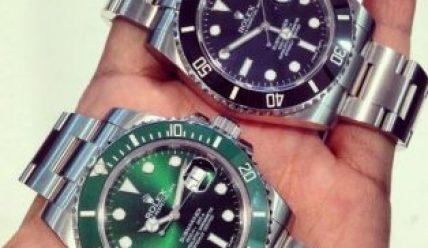 Подлинность оригинальных часов Rolex против подделки
