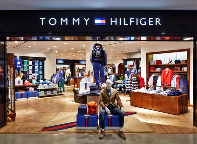 магазин брендовых вещей Tommy Hilfiger