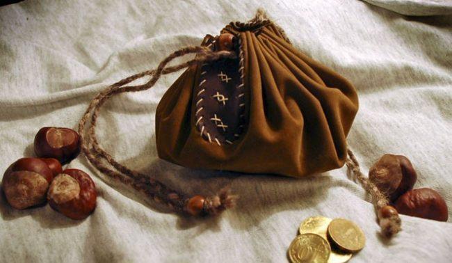 мешочек для денег в старину