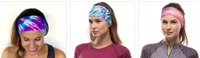 платки на голову в спортивном стиле