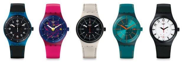 Виды оригинальных часов swatch