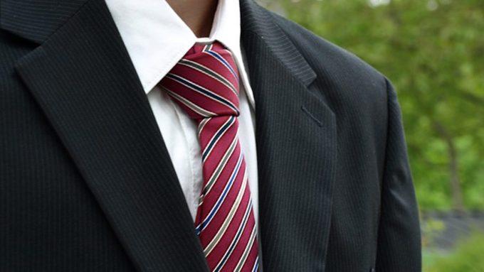 пропорции галстука