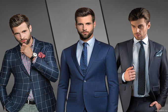 галстук для делового стиля