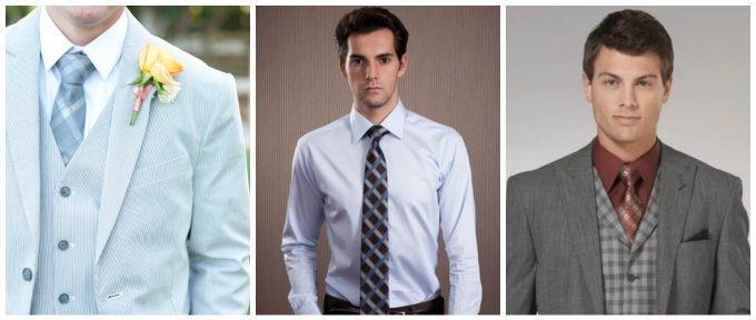 разновидности галстуков