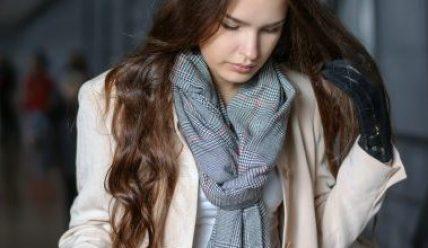 Правильный выбор шарфа к зиме женщине и мужчине