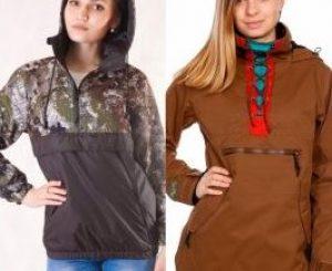 Что это за куртка анорак мужской или женский