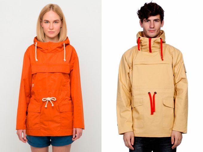 достоинства курток анорак